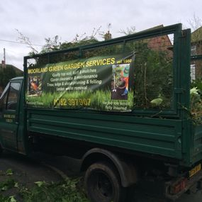 Green Waste on Lorry